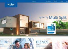 Haier AC z nową stroną internetową