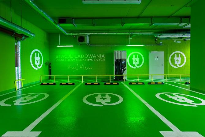 stacja do ładowania pojazdów elektrycznych